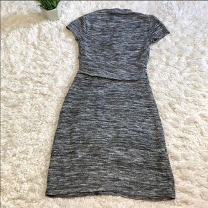 Anthropologie Dresses - Fitted knit dress